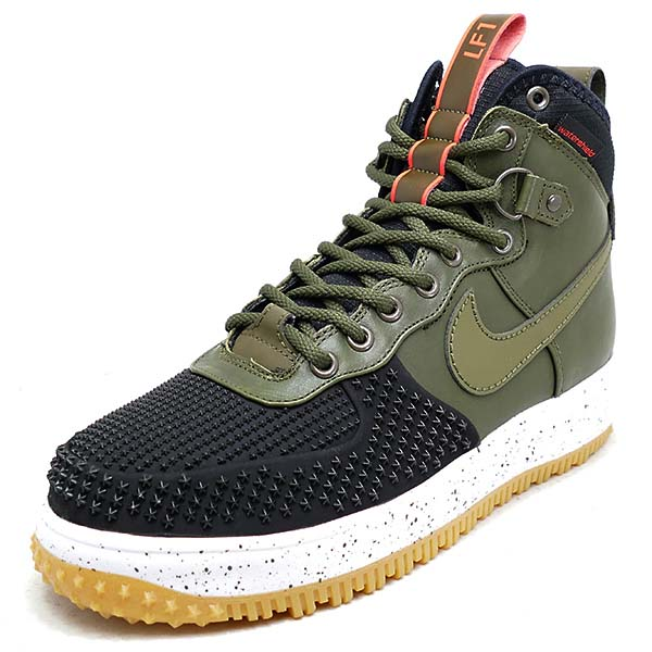 NIKE LUNAR FORCE 1 DUCKBOOT [BLACK / DRK LDN-BRGHT CRMSN-GM LG] 805899-001