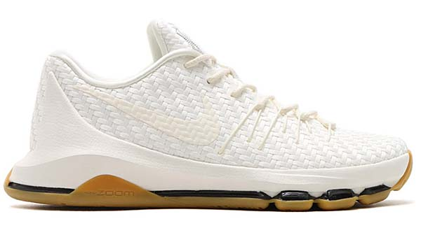 NIKE KD 8 EXT [SAIL / SAIL-CHROME-BLACK] 806393-100