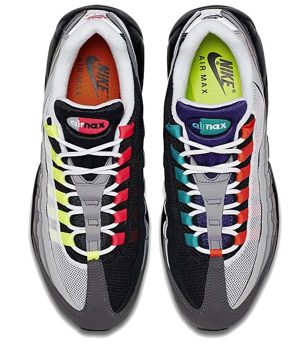 NIKE AIR MAX 95 OG QS GREEDY [BLACK / VOLT-SAFETY ORANGE] 810374-078