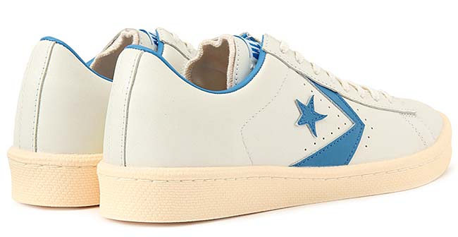 CONVERSE CHEVRON & STAR PRO-LEATHER OX 40th Anniversary [WHITE / LIGHT BLUE] 32649256