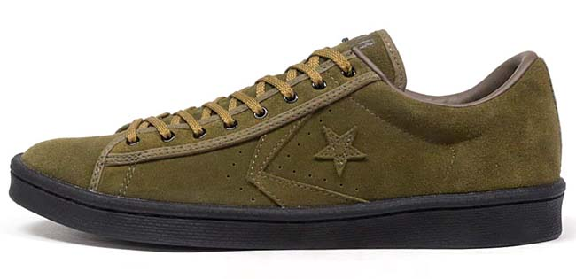 CONVERSE PRO-LEATHER OX 40th NVII NEXUSVII. [OLIVE / BLACK] 32659414