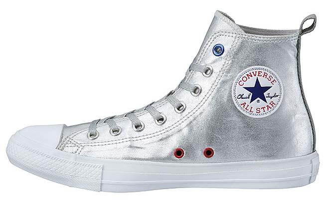 CONVERSE ALL STAR SPACEWALK HI [SILVER] 32960267