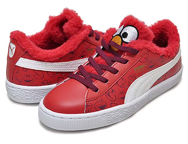 "PUMA BASKET SESAME ""ELMO"" ""COOKIE MONSTER"" ""ERNIE&BERT"" 361555"