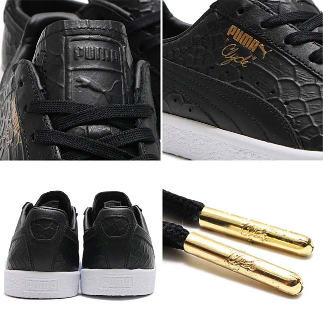 Puma CLYDE DRESSED [PUMA BLACK] 361704-01