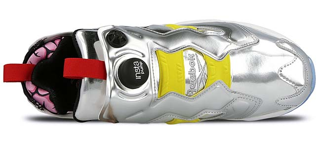 Reebok INSTAPUMP FURY OG VILLAINS [SILV MET / BLACK/BRIGHT YELLOW / SCARLET-ICE] AR1445