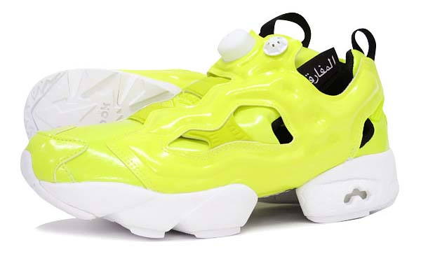 Reebok INSTA PUMP FURY OB [YELLOW / WHITE] AR1606