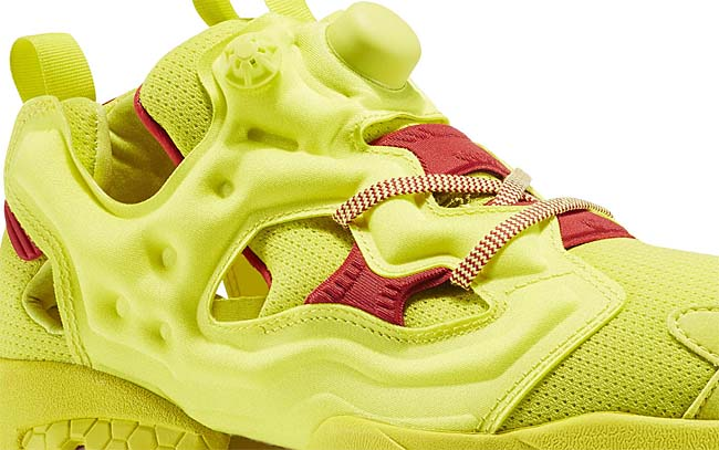 Reebok INSTA PUMP FURY OG [HYPER GREEN / RBK RED] AR3497