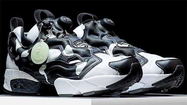 Reebok x A BATHING APE x mita sneakers INSTA PUMP FURY CITY CAMO [BLACK / GLAY / WHITE] BD1355