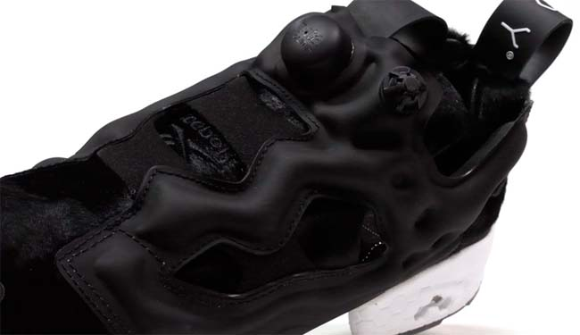 Reebok x SNEAKERBOY INSTA PUMP FURY SB PONY PACK [BLACK / WHITE] BD2324