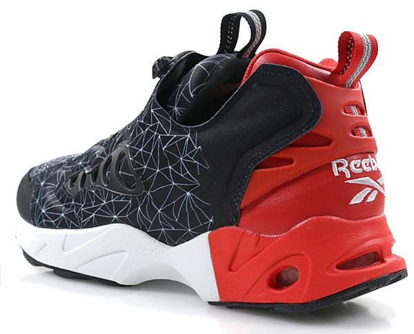 Reebok CLASSIC INSTAPUMP FURY ROAD CHINESE NEW YEAR [BLACK / MOTOR RED WHITE] V67865