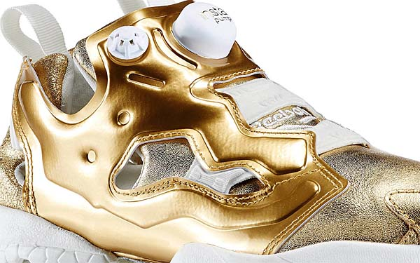 Reebok INSTA PUMP FURY CELEBRATE [RBK BRASS / CHALK] V70094