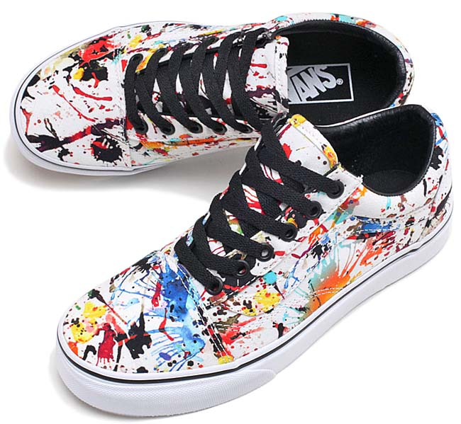 VANS OLD SKOOL PAINT SPLATTER [MATCH COLOR / WHITE] VN0A31Z9M0U
