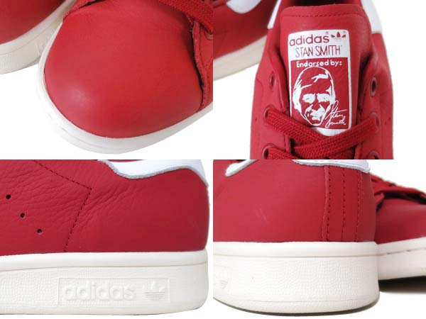 adidas Stan Smith CL [POWER RED / CHALK WHITE] AQ4653