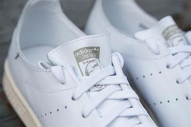 adidas Originals STAN SMITH LEA SOCK [RUNNING WHITE / RUNNING WHITE / GREEN] AQ4787