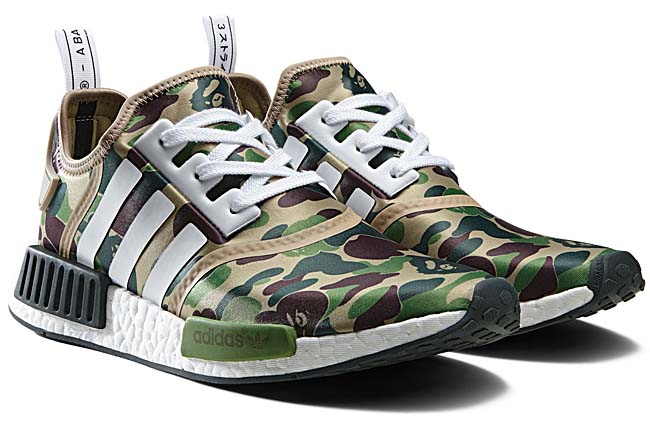 adidas Originals by BAPE NMD R1 BAPE [GREEN CAMO] BA7326