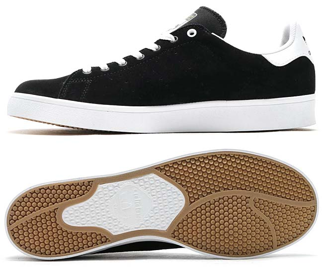 adidas Originals STAN SMITH VULC [CORE BLACK / CORE BLACK / RUNNING WHITE] BB8743