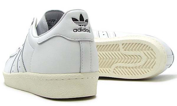 adidas Originals SUPERSTAR 80s DLX [RUNNING WHITE / RUNNING WHITE / CREAM WHITE] S75016