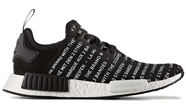 adidas Originals NMD R1 [CORE BLACK / WHITE] S76519