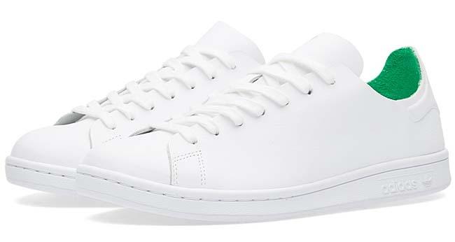 adidas STAN SMITH NUUDE W [FTWR WHITE / FTWR WHITE / GREEN] S76544