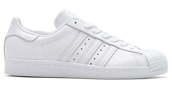 adidas SUPERSTAR 80s TRIPLE TONAL [RUNNING WHITE/RUNNING WHITE/CORE BLACK] S79443