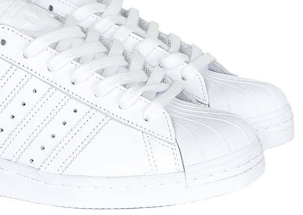 adidas SUPERSTAR 80s TRIPLE TONAL [RUNNING WHITE/RUNNING WHITE/CORE BLACK] S79443