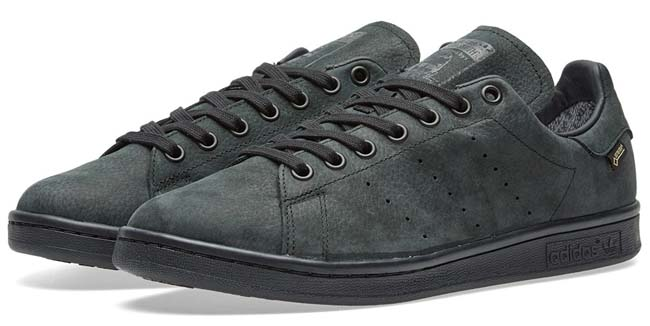 adidas STAN SMITH GTX Gore-Tex [CORE BLACK/CORE BLACK/CORE BLACK] S80048