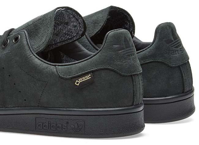 adidas STAN SMITH GTX Gore-Tex [CORE BLACK/CORE BLACK/CORE BLACK] S80048