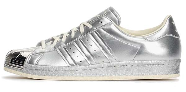 adidas ORIGINALS SUPER STAR 80s METALLIC PAC [SILVER METALIC / WHITE] S82741