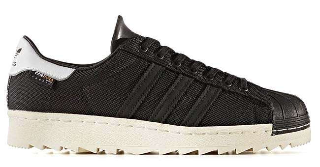 adidas Originals SUPERSTAR 80s CORDURA [CORE BLACK/CORE BLACK/CHALK WHITE] bb3690