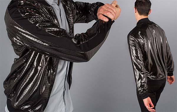 硬派な色合いに輝くミラーボールジャケット Betabrand Gunmetal-Disco Track Jacket の発売が確定 Gunmetal-Disco_Track_Jacket