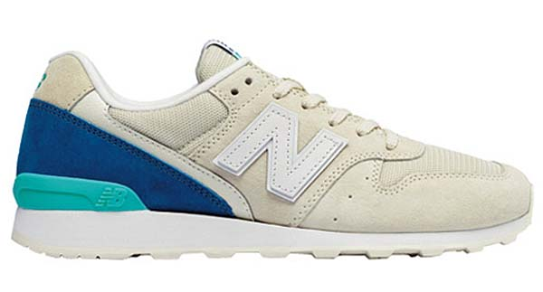 new balance WR996 JR [WHITE / BLUE] WR996