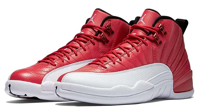 NIKE AIR JORDAN 12 RETRO [Gym Red / Black-White] 130690-600