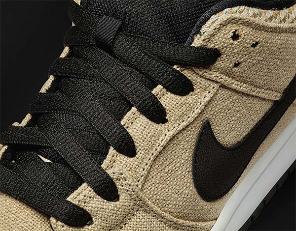 NIKE SB DUNK LOW PREMIUM QS [BAMBOO / BLACK-WHITE] 313170-206
