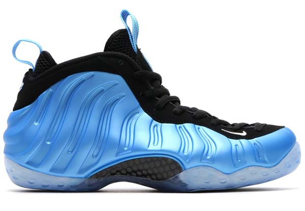 NIKE AIR FOAMPOSITE ONE [UNIVERSITY BLUE / WHITE-BLACK] 314996-402
