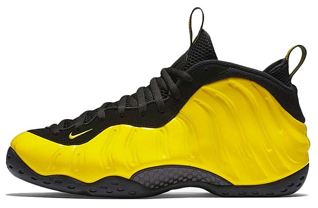 NIKE AIR FOAMPOSITE ONE [OPTI YELLOW / OPTI YELLOW-BLACK] 314996-701