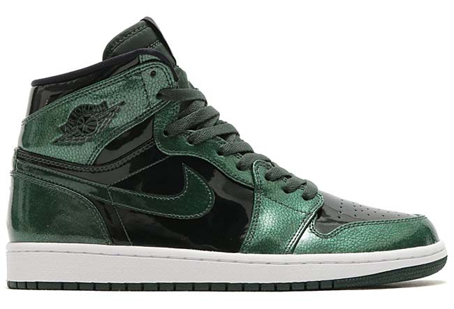 NIKE AIR JORDAN 1 RETRO HIGH [GROVE GREEN / BLACK-WHITE] 332550-300