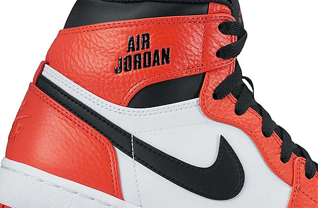 NIKE AIR JORDAN 1 RETRO HIGH RARE AIR [MAX ORANGE / BLACK] 332550-800