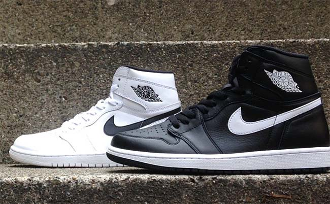 NIKE AIR JORDAN 1 RETRO HIGH OG [WHITE / BLACK-WHITE] 555088-102