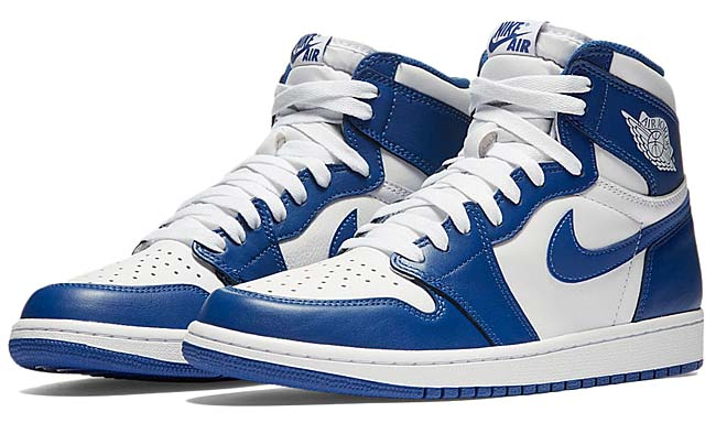 NIKE AIR JORDAN 1 RETRO HIGH OG [WHITE / STORMBLUE] 555088-127