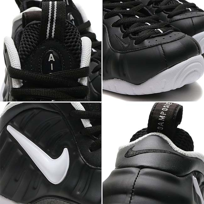 NIKE AIR FOAMPOSITE PRO Dr.Doom [BLACK / WHITE-BLACK] 624041-006