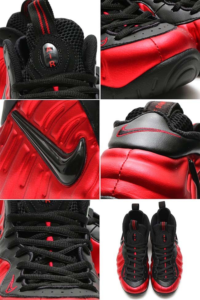 NIKE AIR FOAMPOSITE PRO [UNIVERSITY RED / BLACK-UNIVERSITY RED] 624041-604