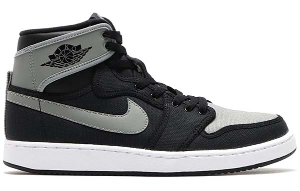 NIKE AIR JORDAN 1 KO HIGH OG [BLACK / SHADOW GREY-WHITE] 638471-003
