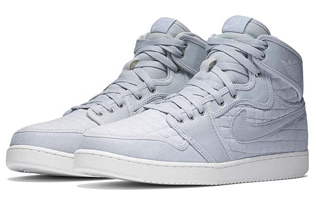 NIKE AIR JORDAN 1 KO HIGH OG [PURE PLATINUM / WHITE-METALLIC SILVER] 638471-004