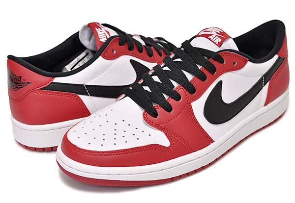NIKE AIR JORDAN 1 RETRO LOW OG [VARSITY RED / BLACK / WHITE] 705329-600