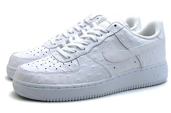 NIKE AIR FORCE 1 07 LV8 OSTRICH [WHITE / WHITE] 718152-104