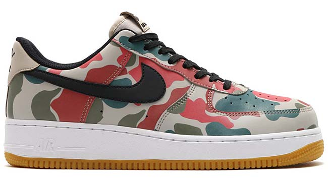 NIKE AIR FORCE 1 07 LV8 [STRING / BLACK-WHITE-GUM LT BROWN] 718152-201