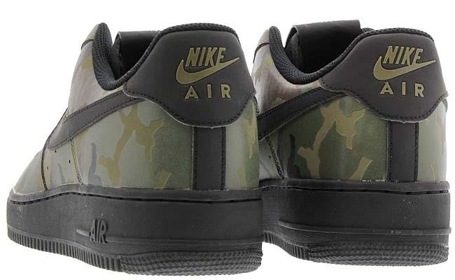 NIKE AIR FORCE 1 07 LV8 [MEDIUM OLIVE / BLACK] 718152-203