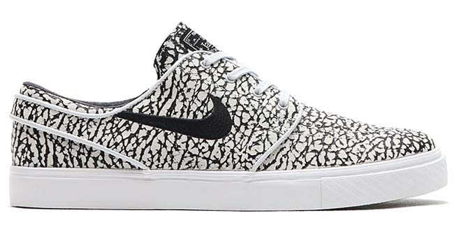 NIKE ZOOM STEFAN JANOSKI ELITE ROAD PACK [BLACK / BLACK-WHITE] 725074-006
