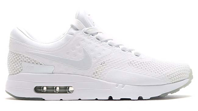 NIKE AIR MAX ZERO QS [WHITE / PURE PLATINUM-PURE PLATINUM] 789695-102