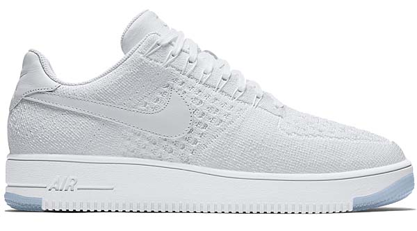 NIKE AIR FORCE 1 ULTRA FLYKNIT LOW [WHITE / WHITE-ICE] 817419-100